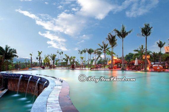 Nghỉ dưỡng quanh Hà Nội nên chọn khu resort nào? Khu resort cao cấp, nổi tiếng ở gần Hà Nội