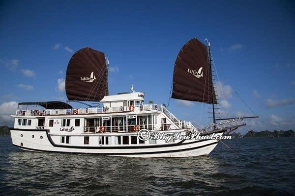 Kinh nghiệm chọn du thuyền du lịch Hạ Long: Du lịch Hạ Long nên đi du thuyền nào?