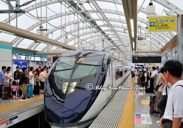Phương tiện di chuyển khi du lịch Ojiya: Du lịch Ojiya bằng phương tiện gì nhanh, giá rẻ?