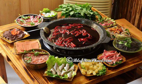 Du lịch Trùng Khánh nên ăn gì? Kinh nghiệm ăn uống khi du lịch Trùng Khánh, Trung Quốc