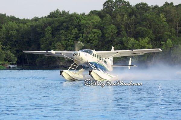 Kinh nghiệm du lịch Hạ Long bằng thủy phi cơ: Chi phí đi du lịch Hạ Long bằng thủy phi cơ