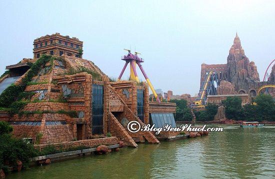 Công viên chủ đề nổi tiếng ở Thẩm Quyến: Kinh nghiệm tham quan, vui chơi khi du lịch Thâm Quyến