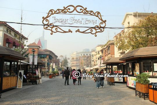 Du lịch Thiên Tân tham quan Italian Style town: Hướng dẫn tour du lịch Thiên Tân giá rẻ