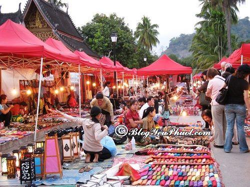Kinh nghiệm mua sắm khi du lịch Lào: Mua sắm ở đâu khi tới Lào du lịch?