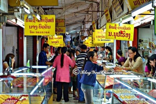 Khu mua sắm đặc biệt nhất Lào ở đâu? Địa chỉ mua sắm nổi tiếng, hấp dẫn nhất ở Lào