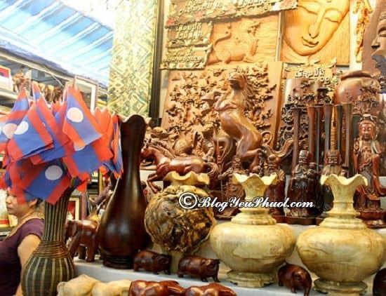 Địa điểm mua sắm đặc biệt cho chuyến du lịch Lào: Kinh nghiệm mua sắm khi đi du lịch Lào