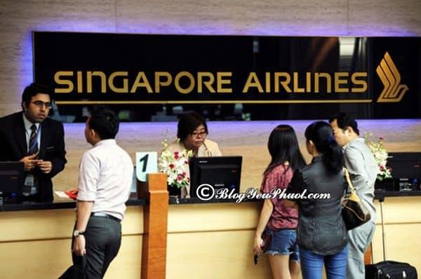 Hướng dẫn điền tờ khai nhập cảnh Singapore: Kinh nghiệm nhập cảnh Singapore thuận lợi nhất