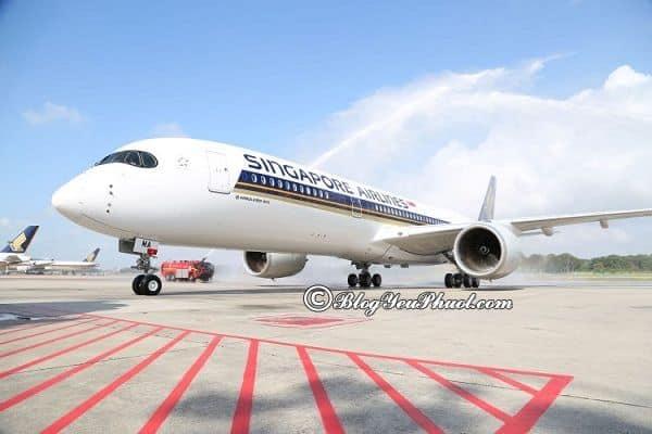 Kinh nghiệm săn vé máy bay khi du lịch Singapore: Săn vé giá rẻ đi du lịch Singapore như thế nào?