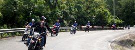 Mẹo vượt đèo bằng xe máy an toàn