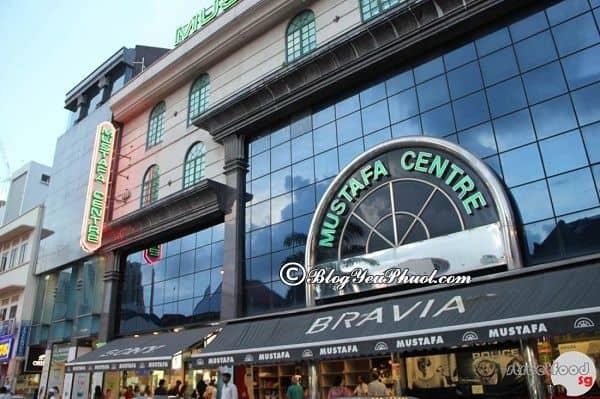Địa điểm mua sắm ở Singapore nổi tiếng, giá rẻ: Địa điểm mua sắm hấp dẫn, sầm uất ở Singapore