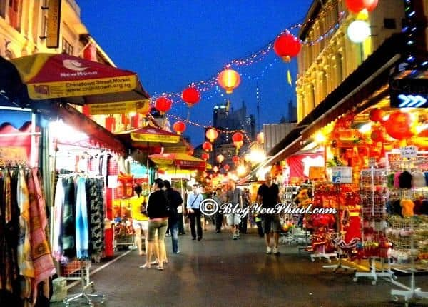 Mua quà lưu niệm ở đâu tại Singapore? Du lịch Singapore nên mua gì làm quà?