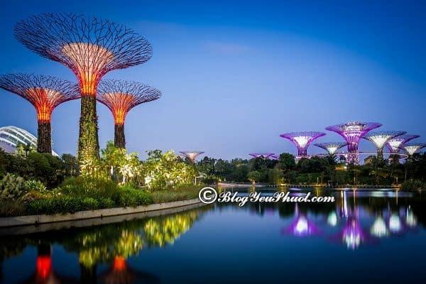 Những công viên đẹp nhất ở singapore