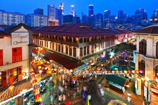 Những địa điểm du lịch miễn phí ở singapore: Địa điểm tham quan, du lịch miễn phí ở Singapore nổi tiếng nhất