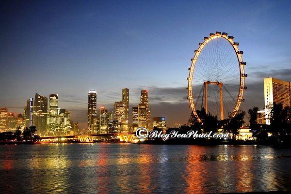 Giá vé tham quan các khu du lịch nổi tiếng ở Singapore: Du lịch Singapore đi đâu chơi giá rẻ, miễn phí?