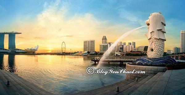 những địa điểm du lịch miễn phí ở singapore
