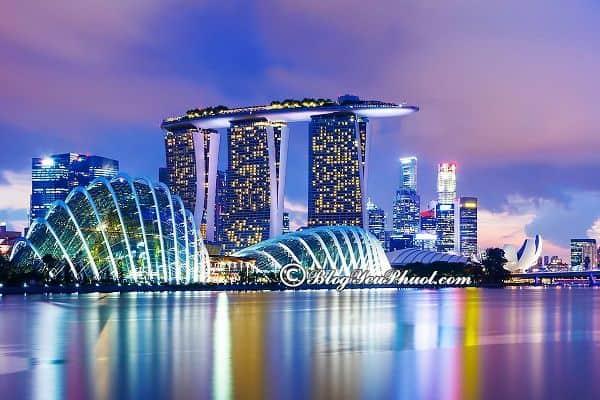 Những lưu ý khi du lịch Singapore lần đầu trọn vẹn, suôn sẻ nhất