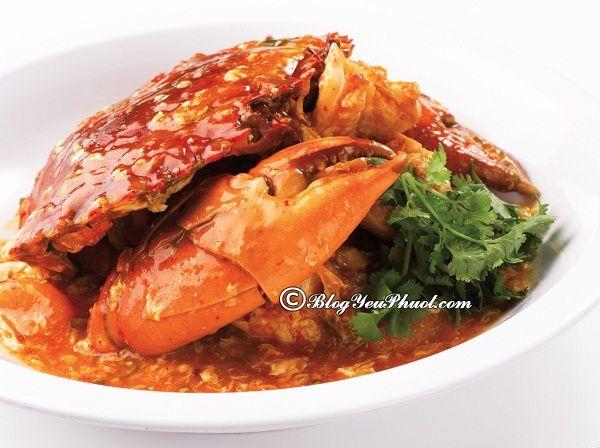 Món ăn đặc trưng ở Singapore