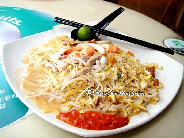 Món ăn đường phố ngon nhất ở Singapore: Singapore có đặc sản đường phố nào ngon, nổi tiếng?