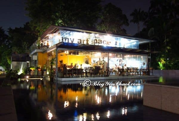 Những quán cafe độc đáo tại Singapore: Địa chỉ uống cà phê nổi tiếng, view đẹp ở Singapore