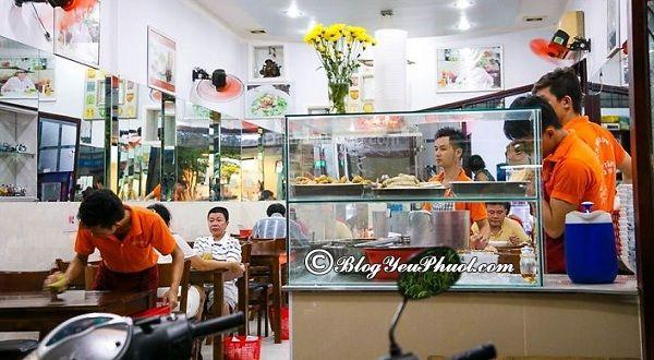 Địa điểm ăn uống nổi tiếng trên đường Võ Văn Tần, quận 3, Sài Gòn: Quán ăn ngon, bổ, rẻ đường Võ Văn Tần, Quận 3, Sài Gòn