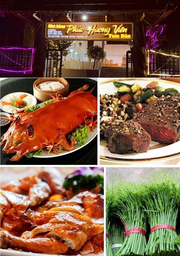 Quán ăn ngon ở Tam Đảo: Tam Đảo có nhà hàng nào ngon, nổi tiếng?