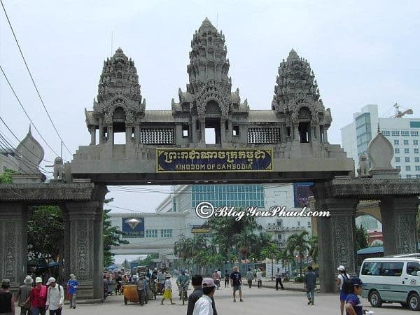 Thủ tục mang xe máy qua cửa khẩu Poipet giữa Campuchia và Thái Lan: Làm sao để mang xe máy qua cửa khẩu du lịch?