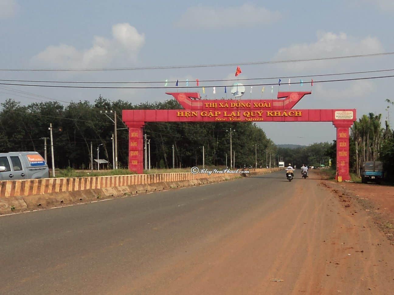 Từ Sài Gòn đi Đồng Xoài bao nhiêu km?