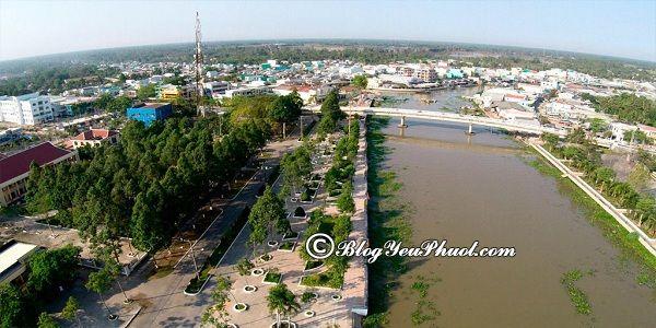 Kinh nghiệm di chuyển từ Sài Gòn tới Hậu Giang: Nên đi đường nào từ Sài Gòn tới Hậu Giang gần và nhanh nhất?