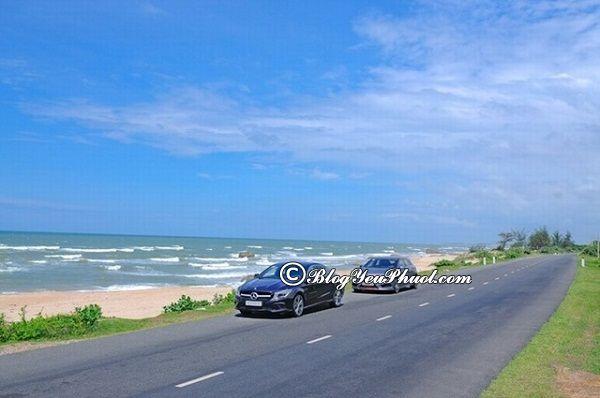 Hướng dẫn đường đi du lịch Hồ Tràm từ Sài Gòn: Khu du lịch Hồ Tràm cách Sài Gòn bao nhiêu km, đi đường nào gần?