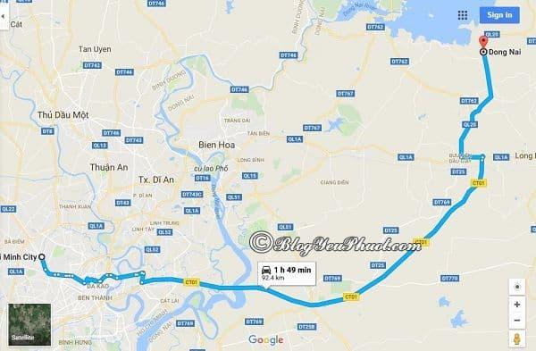 Phượt Phú Yên từ Sài Gòn đi đường nào? Quảng đường từ Sài Gòn tới Phú Yên đi qua Đồng Nai