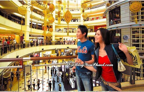 Cách hoàn thuế khi mua sắm ở singapore