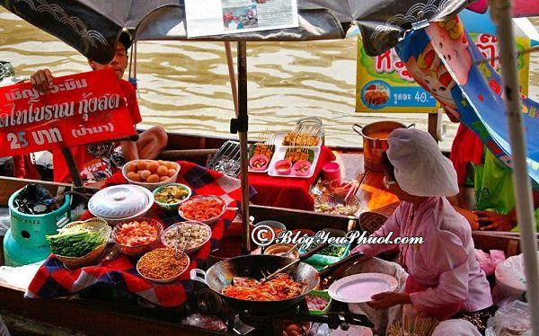 Chợ nổi thu hút, hấp dẫn ở gần Bangkok: Địa chỉ những khu chợ nổi gần Bangkok nổi tiếng nhất