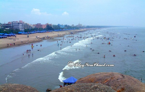 Nên du lịch biển ở đâu gần Hà Nội? Bãi biển nào đẹp, nổi tiếng ở gần Hà Nội
