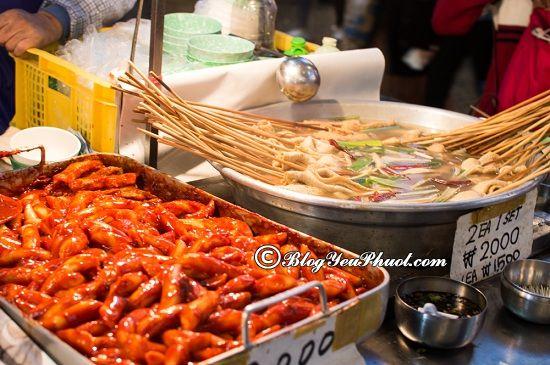 Địa điểm ăn uống ngon ở Seoul: Quán ăn nào ngon ở Seoul, Hàn Quốc?