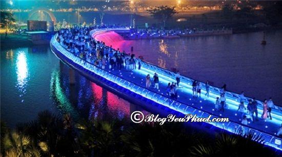 Địa điểm vui chơi Sài Gòn về đêm: Du lịch Sài Gòn nên đi chơi đâu vào buổi tối?