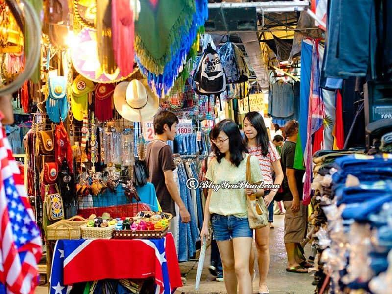 Địa điểm mua sắm khi du lịch Thái Lan: Kinh nghiệm mua sỉ hàng hóa khi du lịch Thái Lan