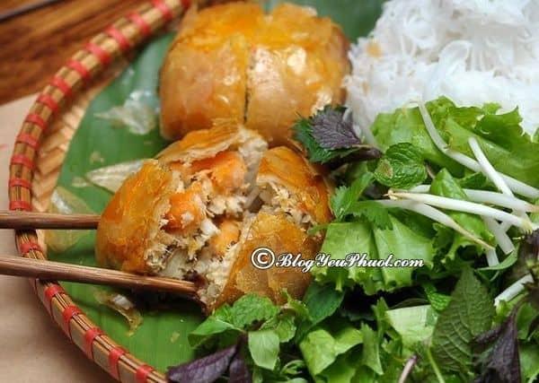 Quán nem cua bể được yêu thích ở Hải Phòng: Những quán ăn ngon, hấp dẫn ở Hải Phòng