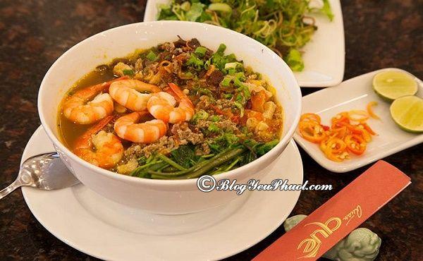 Quán bánh đa cua ngon nhất Hải Phòng: Địa chỉ nhà hàng, quán ăn ngon đặc sản nổi tiếng ở Hải Phòng
