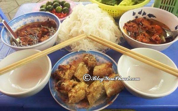 Quán bún chả ở Hải Phòng thu hút nhất: Địa chỉ ăn uống ngon, nổi tiếng, giá rẻ ở Hải Phòng