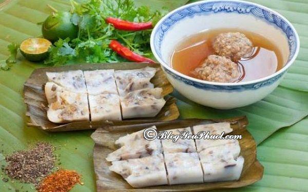Quán bánh bèo ngon, thu hút ở Hải Phòng: Ăn đặc sản Hải Phòng ở đâu ngon, nổi tiếng nhất?