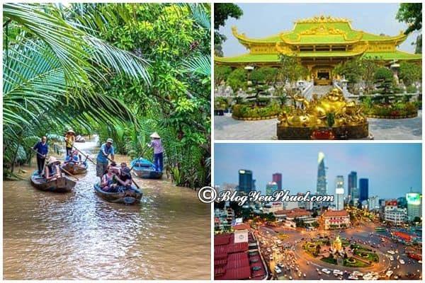 Bản đồ du lịch phượt Việt Nam và các địa điểm du lịch nổi tiếng