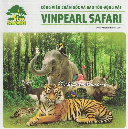 Giá vé Vinpearl Safari Phú Quốc bao nhiêu tiền? Bảng giá dịch vụ vui chơi, ăn uống ở Vinpearl Phú Quốc