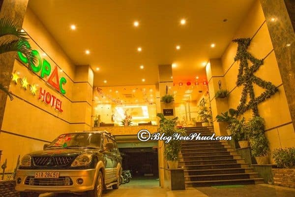 Khách sạn 3 sao Copac Nha Trang ở đâu, có tốt không? Đánh giá, nhận xét chất lượng, tiện nghi của khách sạn Copac Nha Trang