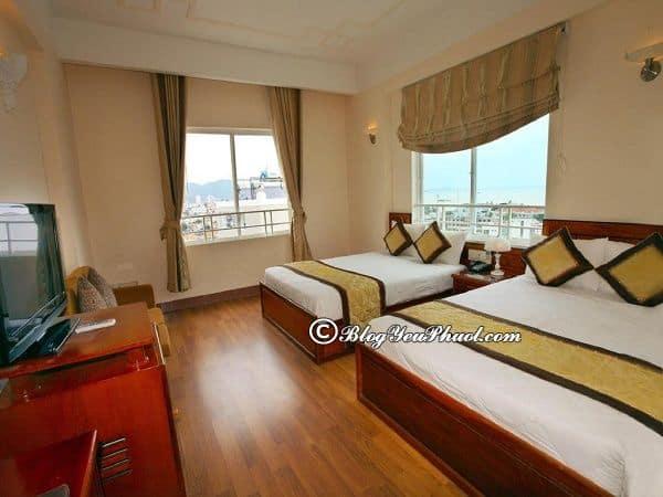 Hình ảnh của khách sạn Olympic Nha Trang? Đánh giá chi tiết phòng ốc, tiện nghi, thiết kế của khách sạn Olympic Nha Trang