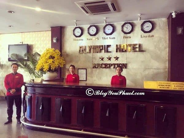 Đánh giá dịch vụ ở Olympic Nha Trang? Nhận xét, review về tiện nghi, chất lượng phục vụ của khách sạn Olympic Nha Trang