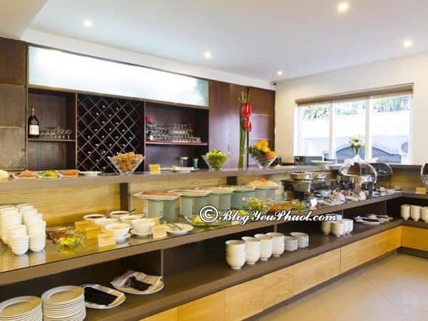 Thông tin chi tiết khách sạn 3 saoStarlet Nha Trang: Đánh giá đồ ăn, nhà hàng của khách sạn Starlet Nha Trang