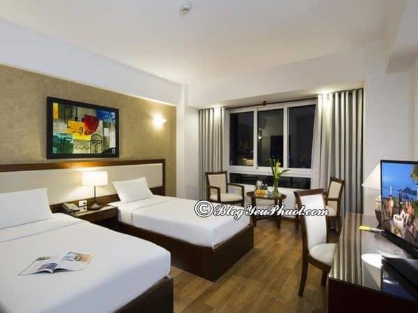 Khách sạnStarlet Nha Trang có tiện ích gì? Đánh giá, nhận xét về vị trí, tiện nghi của khách sạn Starlet Nha Trang