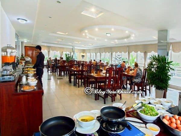 Đánh giá khách quan khách sạn Sunny Nha Trang: Review đồ ăn, nhà hàng của khách sạn Sunny Nha Trang