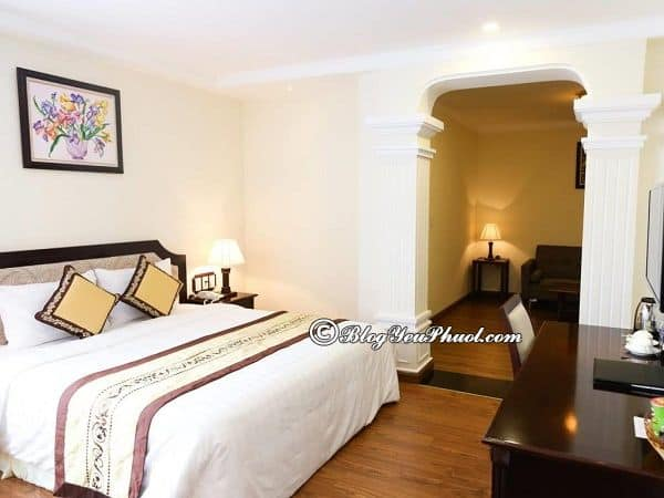 Du lịch Đà Lạt nên ở khách sạn 3 sao nào? Địa chỉ những khách sạn 3 sao nổi tiếng, view đẹp ở gần chợ Đà Lạt