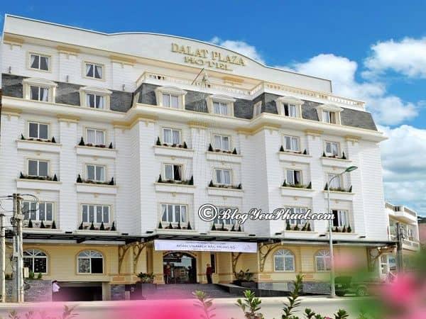 Khách sạn 3 sao chất lượng ở Đà Lạt nổi tiếng: Địa chỉ những khách sạn 3 sao sạch đẹp, tiện nghi ở gần chợ Đà Lạt